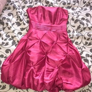 Pink poof dress